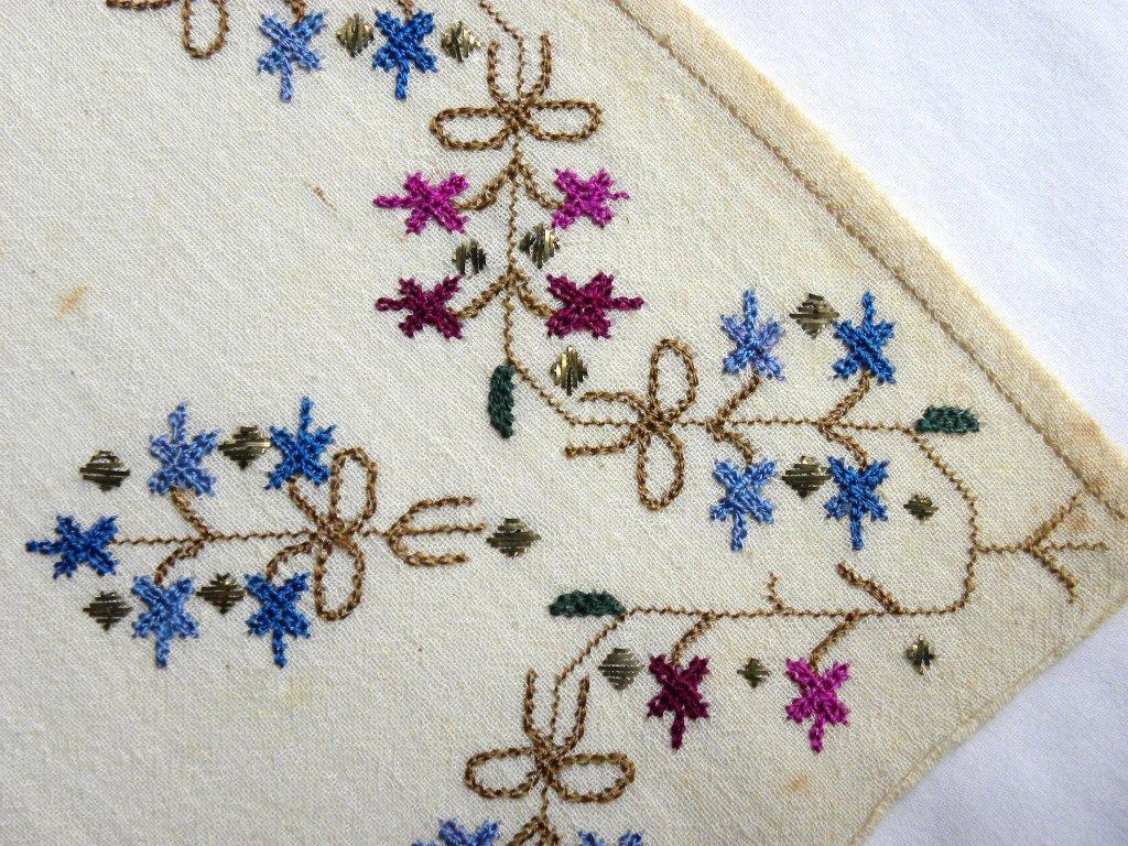 Крымскотатарская вышивка мыкълама 15