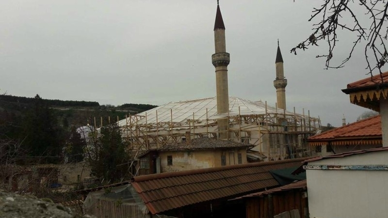 Palace Mosque in restoration