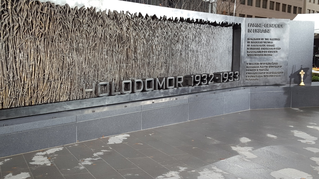 Holodomor Memorial in Washington, DC