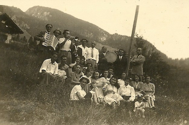 Outing at Camp Mittenwald, Germany