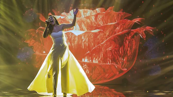 Jamala at Eurovision contest