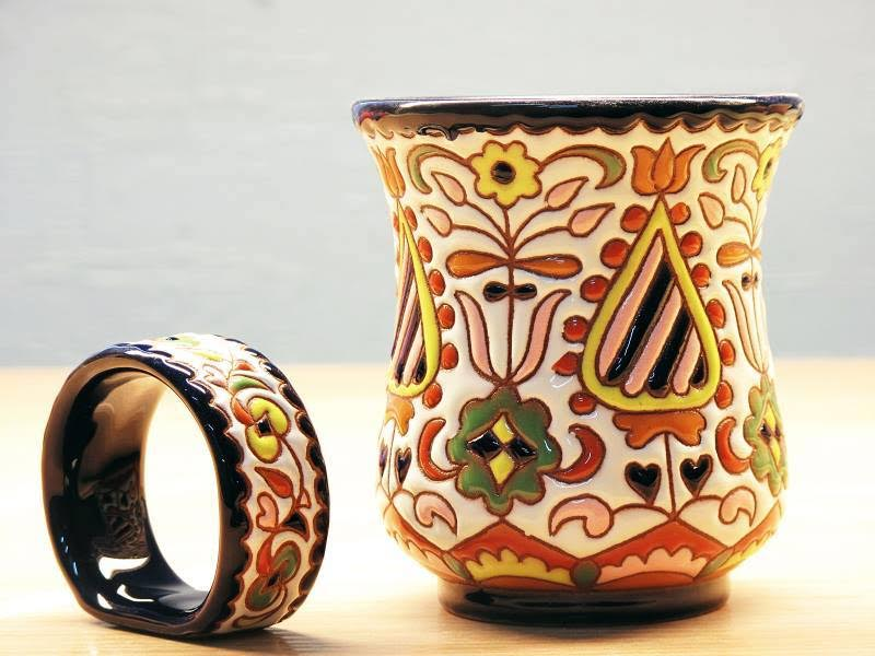 Pottery by Rustem Skibin