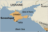 Crimea, part of Ukraine