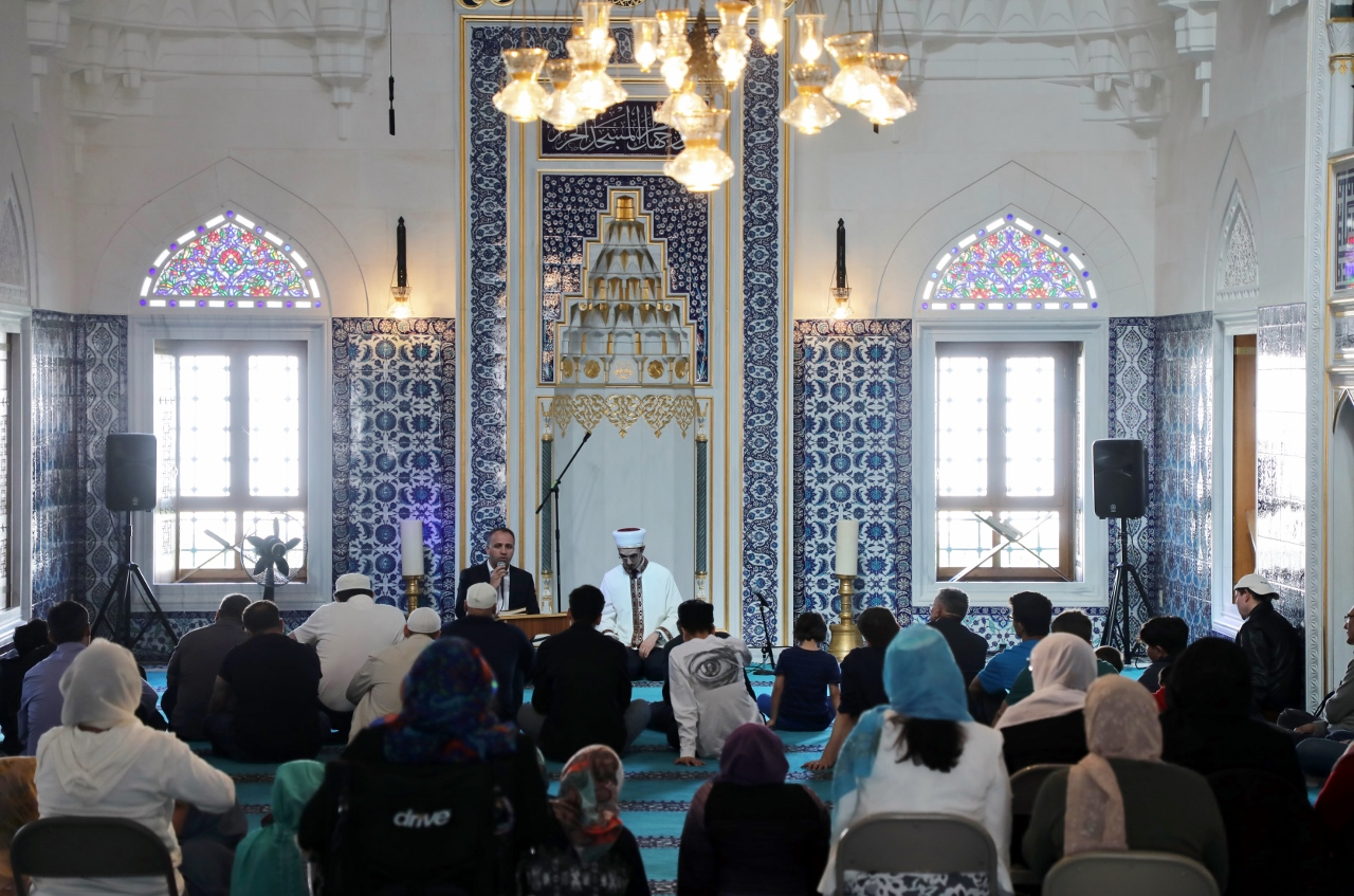 Vigil at Diyanet Center of America